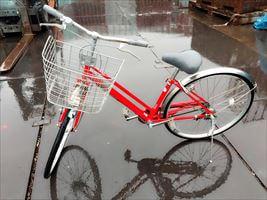 26インチ 自転車(フレーム 直)